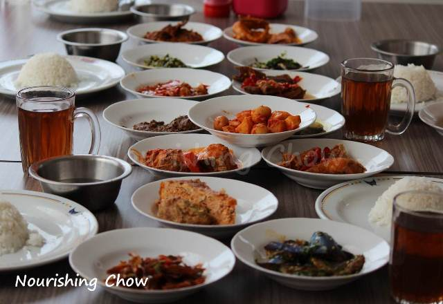 Sederhana Padang Restaurant in Slipi, Jakarta