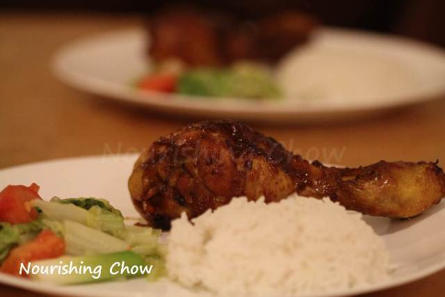 Indonesian grilled chicken (ayam panggang kecap)