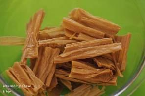 Tofu skin stick