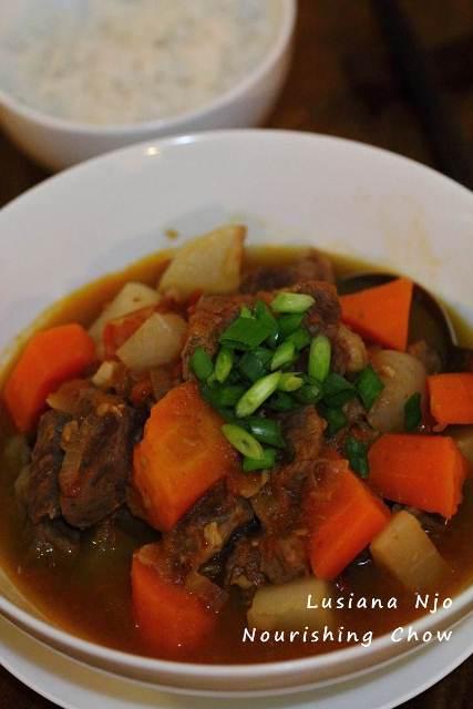 NCLNjo Beef Tomato White Radish Stew