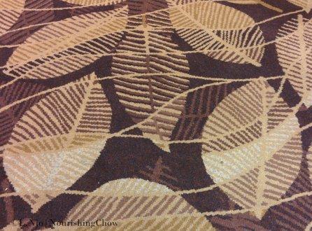 leaf pattern, carpet