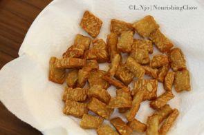 fried tempeh, tempe, tempe goreng