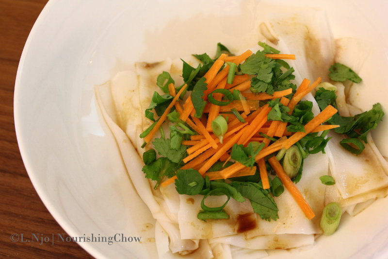vegetarian, meatless, chee cheong fun